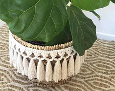 Wild Clove Co. - Large Tassel Macrame Garland texture Wild Clove Co. Macrame , Wild Clove Co. - Large Tassel Macrame Garland texture Wild Clove Co. Wild Clove Co. - Large Tassel Macrame Garland texture Wild Clove Co. Macrame Design, Macrame Art, Macrame Projects, Macrame Knots, Macrame Mirror, Macrame Curtain, Micro Macrame, Plant Basket, Wall Basket