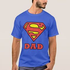 Super Dad T-ShirtYou can find Superman and more on our website.Super Dad T-Shirt Ford Mustang Logo, T-shirt Slogan, Grunge, Dot Logo, World's Greatest Dad, Superman T Shirt, Superman Superman, Design T Shirt, Shirt Designs