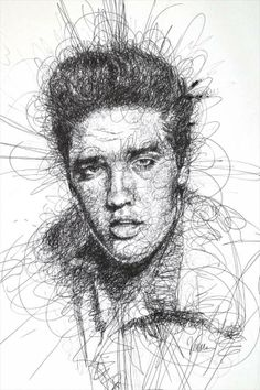 Scribble drawing by Vince Low.