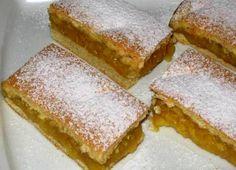 jablečný koláč, recept Czech Recipes, Ethnic Recipes, Apple Cake Recipes, Cake Bars, Apple Slices, Scones, Cornbread, Vanilla Cake, Sandwiches