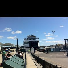 First ferry to Nantucket