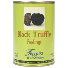 Slim shavings of asian truffles are perfect to use a garnish and decorate truffle dishes. Gourmet Food Store, Gourmet Recipes, Dog Food Recipes, Black Truffle, Peeling, Truffles, Preserves, Stuffed Mushrooms, Jar