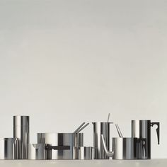 Stelton   Arne Jacobsen   Cylinda Line   Køkkentilbehør   1964   Have 2  Pieces From This Line. One Day At A Time