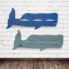 Design Your Own Whale Coat Rack - The Project Cottage