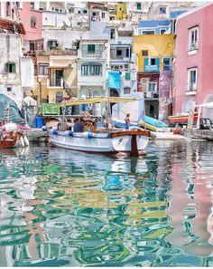 Prócida (ilha italiana), Nápoles, Campania, Itália