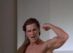 """""""All it comes down to is this: I feel like shit, but look great."""" - 10 quotes from 'American Psycho' that are still shocking today Livingstone, Christian Bale Body, Batman Christian Bale, Film Stills, Film Movie, Good Movies, Awesome Movies, Celebrity Crush, Beautiful Men"""