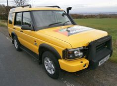 Land Rover Discovery Td5 G4 Challenge Lovely Condition Only 8 yellow Produced   eBay