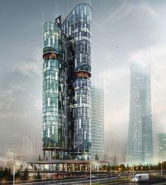 Avrupa Office Ataşehir | ATAŞEHİR | 30 fl | U/C - SkyscraperCity