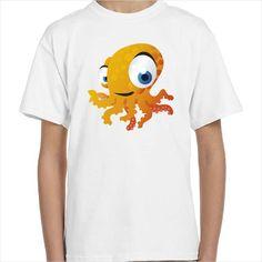 Camiseta infantil Pulpo