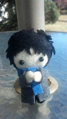 Sherlock Holmes BBC Pocket Plush Doll // PAINFULLY cute