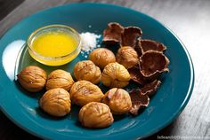 How to roast chestnuts without an open fire | InSearchOfYummyness.com