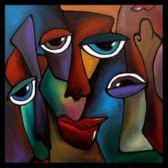 Art: Faces1038-2424-On-The-Level-2.jpg by Artist Thomas C. Fedro