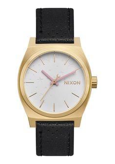 Medium Time Teller Leather | Montres Bracelet Cuir Homme | Montres et Accessoires Premium Nixon