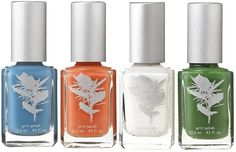 ' Kit (Inspired by the 4 Major International Tennis Tournaments).This line doesn't have formaldehyde,. Nail Polish Kits, Green Companies, Tennis Tournaments, Free Products, Organic Skin Care, Reuse, Cruelty Free, Nyc, Vegan