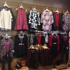 Women's Fall wall at Hunni's #hunnistyle #purple #womens #fall #fashion