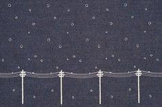 yuki-no-hi: textile   minä perhonen