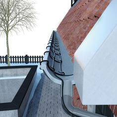 MAGNUM Trace Gutter Heat To protect your eaves and rainwater drainpipe against frost.