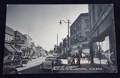 RPPC River Street Manistee, Michigan, Old Neon Signs, Rexall, Consumers, Philco