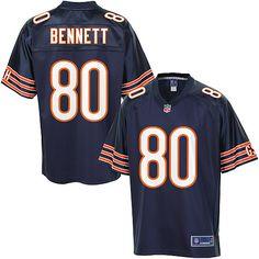 Men's Pro Line Chicago Bears Earl Bennett Team Color Jersey