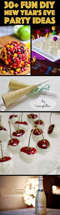 30+ Fun DIY New Year's Eve Party Ideas