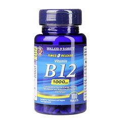 Holland & Barrett Timed Release Vitamin B12 Tablets 1000ug
