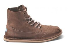 Brown Suede Womens Tomboy Boot side