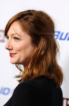 Judy Greer Medium Straight Cut with Bangs