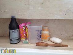 Os ingredientes da poção pra fazer durante um banho divertido com brincadeiras rapidinhas