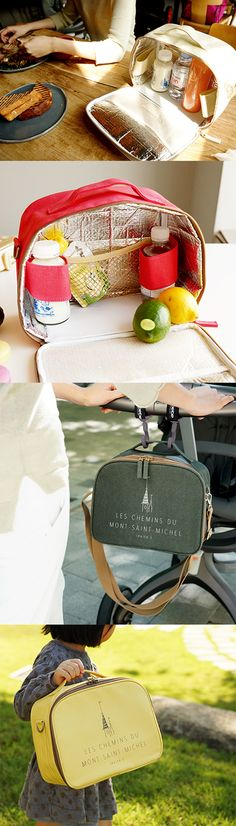 The Daily cooler bag will be perfect if you want to carry foods for kids or go on a picnic during the hot summer days. This cooool bag keeps the items inside cool when you put them in this insulated bag with the included ice pack. This functional bag includes 2 bottle holders and mesh pockets which hold the food container and bottles securely. Plus, this stylish bag has both a handle and a shoulder strap so that you can either hold it in your hand or sling on your shoulder.