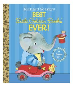 Take a look at this Richard Scarry's Best Little Golden Books Ever Hardcover today!
