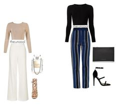 """""""Untitled #11"""" by the-uncool-collective on Polyvore featuring Proenza Schouler, Topshop, Cushnie Et Ochs, Gianvito Rossi, Victoria Beckham and Chanel"""
