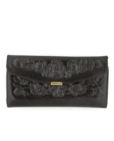 Spanish Rose Wallet in Black #LULUSWILDWEEK