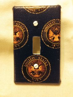 US Navy  Light Switch Cover by grannyharper on Etsy, $8.00