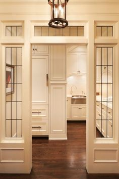 Wouldn't you love Planning this Butler's Pantry for your home!!