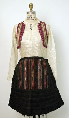 Date: late 19th or early 20th century Culture: Albanian (Malissori peoples)