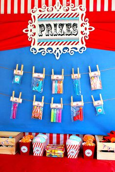 Creative & FUN Big Top Circus Party {First Birthday}