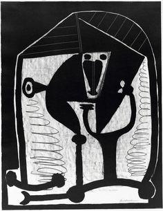 Figure, November 21, 1948. Pablo Picasso