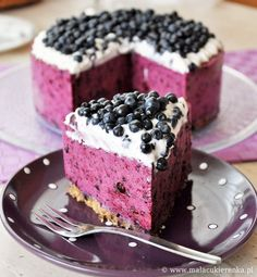 Beautiful Blueberry Cheesecake