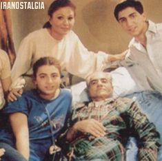 Last family photo of the Shah of Iran in Exile