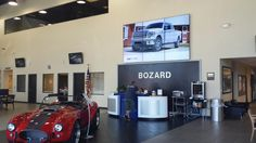 ABN Automotive Digital Signage in a Ford Dealership http://www.abnetwork.com/ford-dealership-digital-signage-from-abn