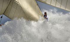 Imagen ganadora del certamen MMirabaud Yacht Racing Image 2014 que realizó Alfred Farré