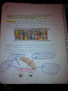 Reading - Interactive Student Notebook