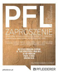 warsztaty dla architektów, Wrocław, obróbka HPL, #materialswelove, #pfleiderer Events