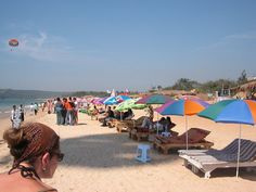 """Travel Journal: Calangute, Beaches in Goa   """" CALANGUTE, GOA, INDIA    I loved the shacks and hang around with a chilled beer in my hand! """" -hir"""