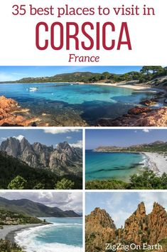 35 Best Places to visit in Corsica (with inspiring pictures!) Corsica Travel Guide – Best places to visit in Corsica (with photos): best regions, views, roads, beaches, villages… & Travel Photos & Outdoor Travel. Beautiful Places To Travel, Cool Places To Visit, Europe Travel Tips, Travel Destinations, Travel Guide, Travel Hacks, Travel Info, Travel Pictures, Travel Photos