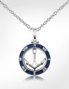 Forzieri Stainless Steel Anchor Pendant Necklace.... I found this while looking for something completly unrelated, thought it was cool. thank you google!