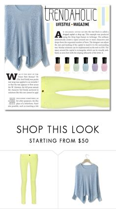 """""""Pastel Is Cake In Spanish"""" by montcastanon ❤ liked on Polyvore featuring M Missoni, Chicwish and Deborah Lippmann"""
