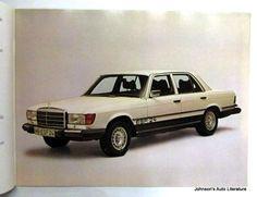 Mercedes Benz 1976 All Models Sales Brochure w/ 450SL