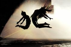 dance-I want to try a pic like this sillouettes with flare in the background