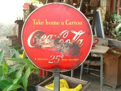 Rusty Button sign